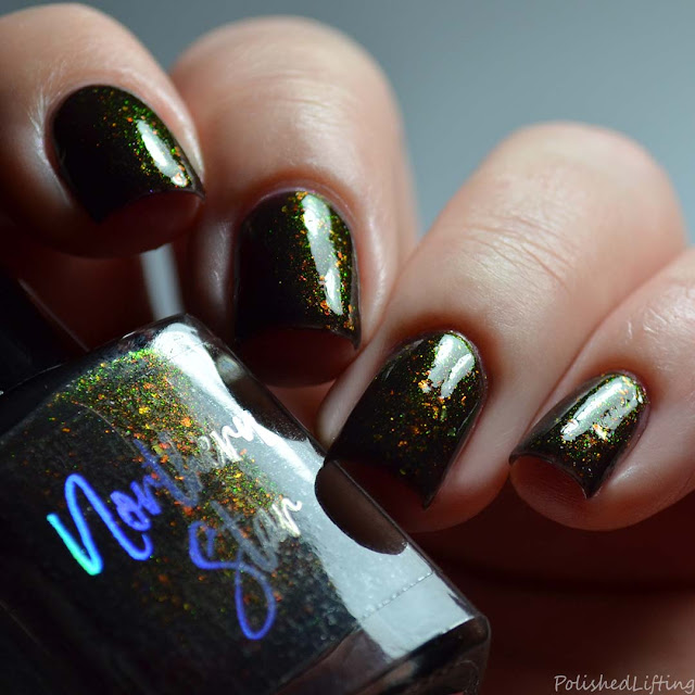 color shifting aurora shimmer nail polish