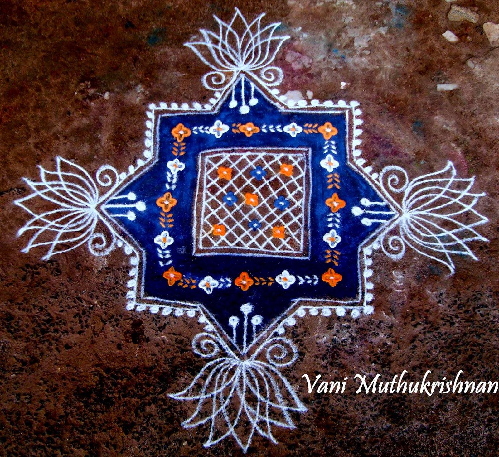 Kolam Designs 4