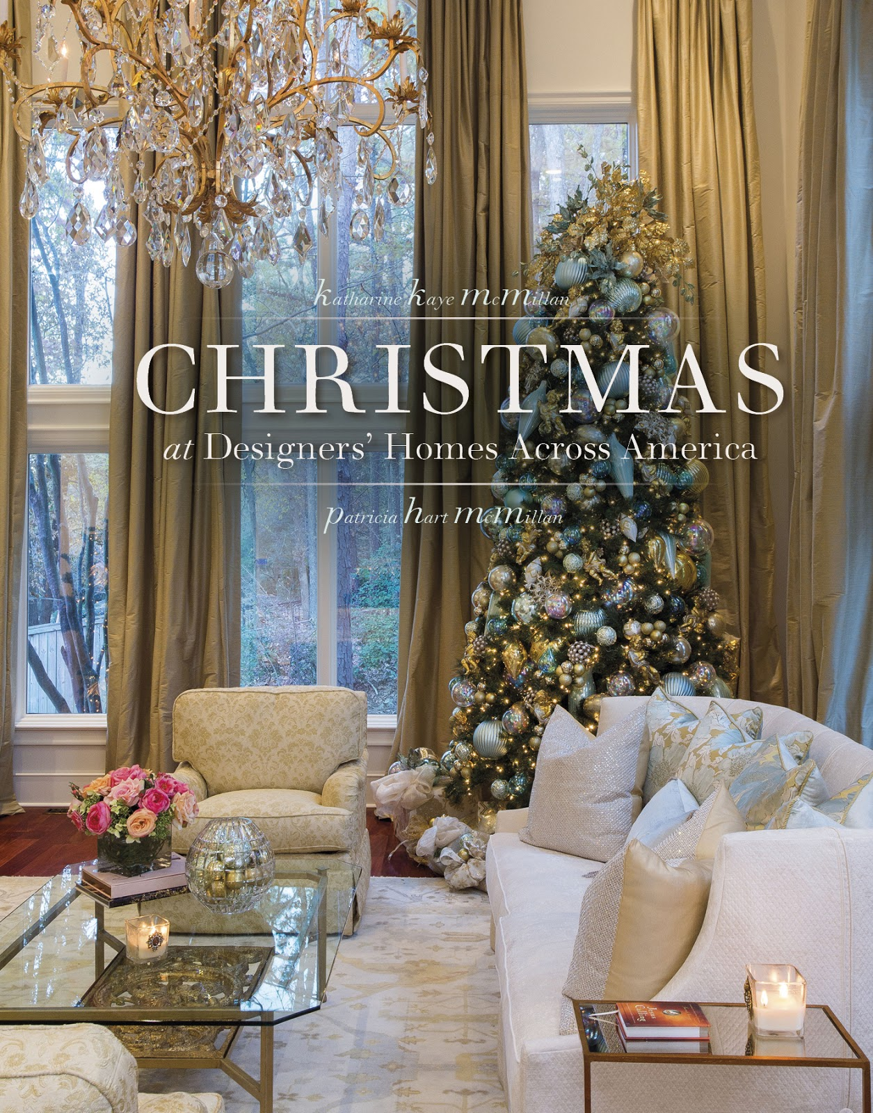 Beautiful Decorated Homes Christmas At Designers 39 Homes Across America The Glam Pad