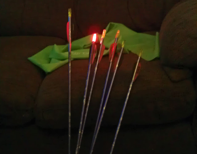 Burt Lumenok lighted Nock Review