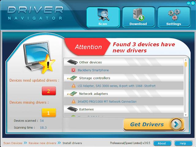 Driver Navigator Product Key