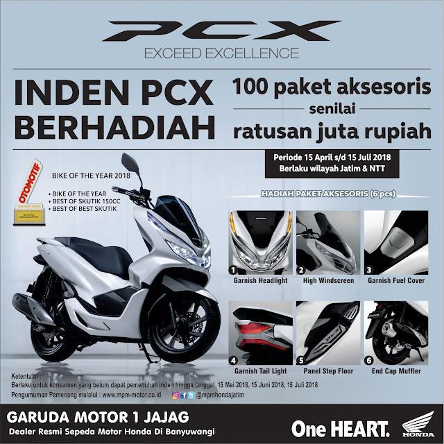 Promo honda Garuda Motor 1 Jajag banyuwangi