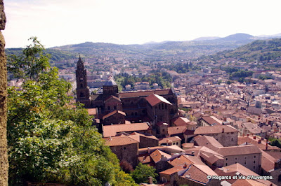 Le Puy, en Velay, Auvergne, France.