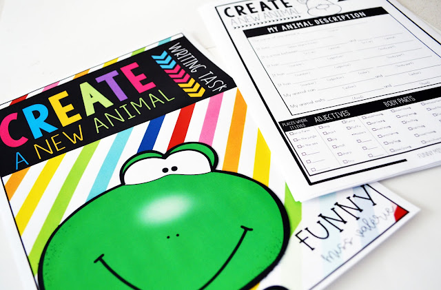 https://www.teacherspayteachers.com/Product/Create-a-New-Animal-writing-task-3622488