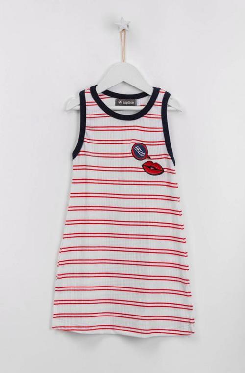 Moda en vestidos para niñas verano 2018.