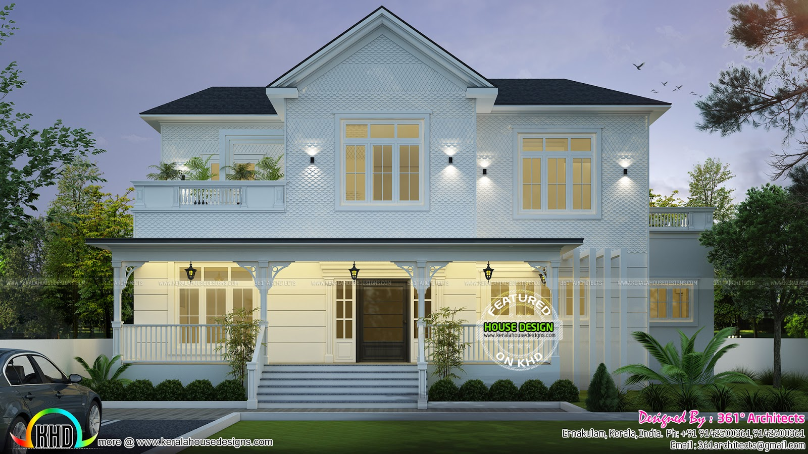 Roman Style Home Plan Kerala Home Design Bloglovin