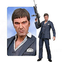 "Gifts for men, Presents for men, Christmas presents for men, birthday presents for men, Christmas gifts for men, birthday gifts for men, Scarface: Tony Montana 18"" Action Figure with Sound,"