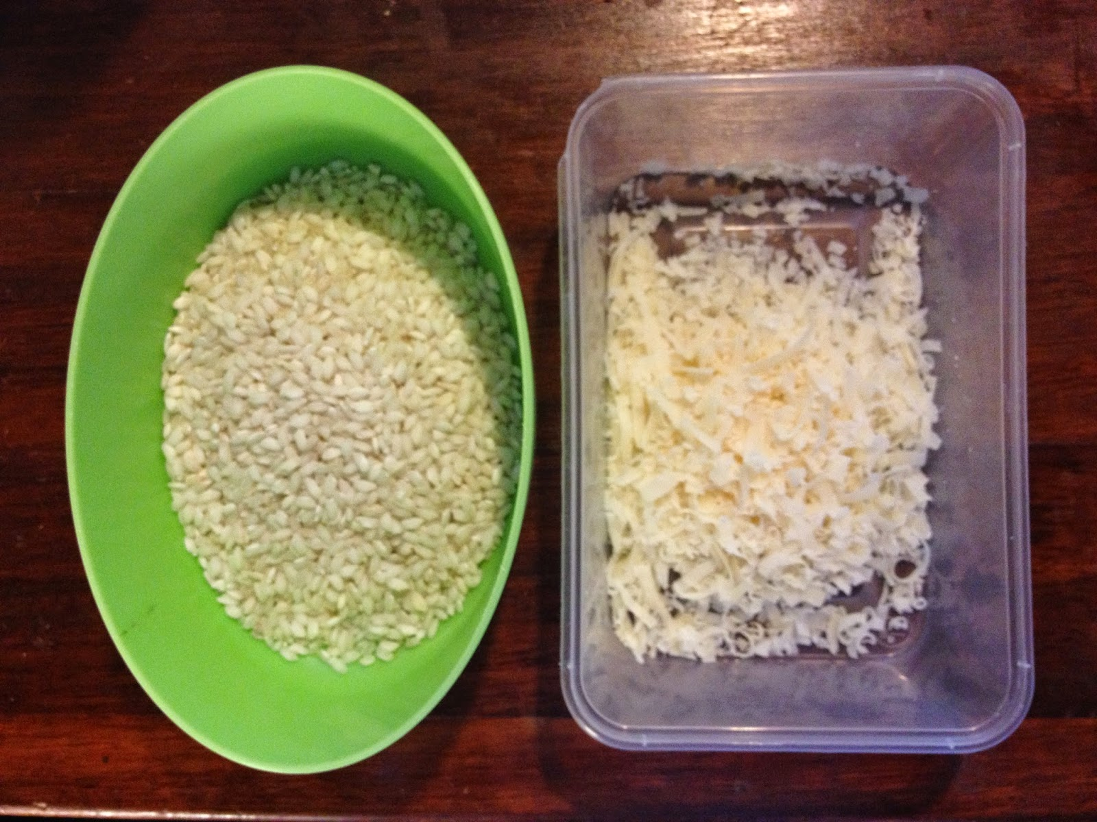 arborio rice grana padano cheese
