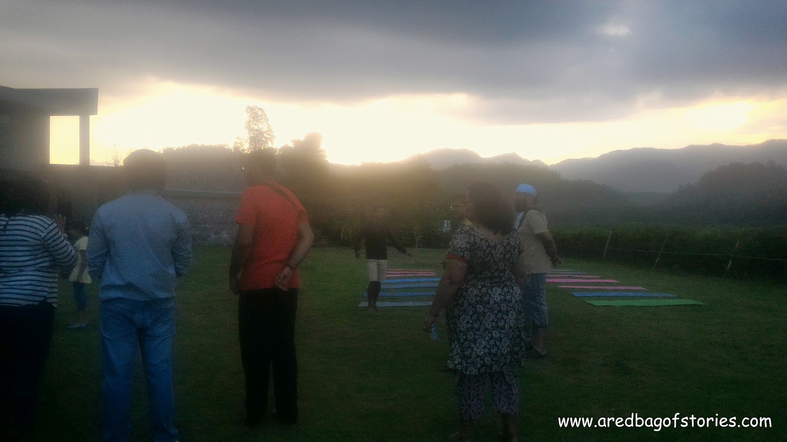 yoga at Namah Resort