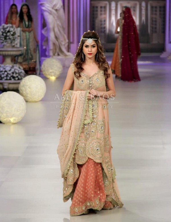 Pakistani new bridal dresses pak fashion Fashion style in pakistan 2013