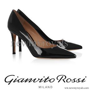 Crown Princess Mette Marit wore Gianvito Rossi Pumps