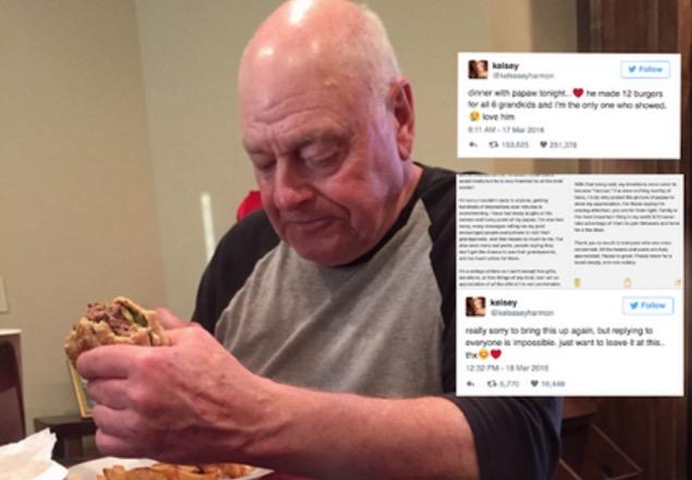 Datuk Teruja Buat Burger Tapi Cucu Tak Datang