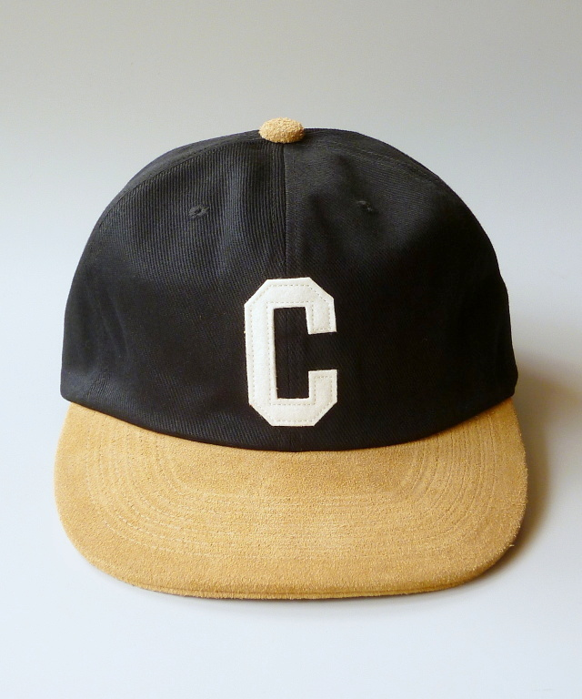 "CALEE ""TWILL/LEATHER COMBINATION CAP"" Price:¥8,500- +TAX TRUMPS STAFF BLOG"