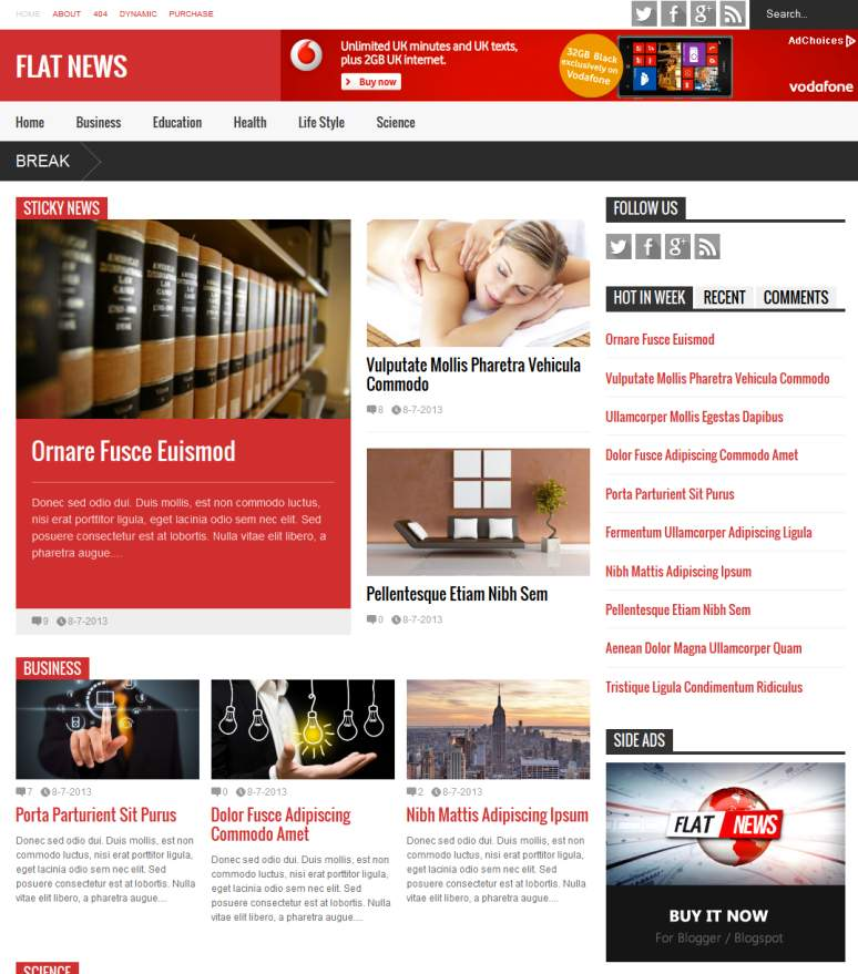 Top 20 Best, Cute  Simple Blogger Blogspot Themes  Templates 2015 - free cute blogger templates