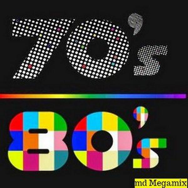 DJ MD MEGAMIX - 70's to 80's Party Mix (73:47) ~ THE MIXTAPE