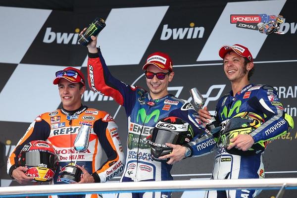 Podium Jerez 2015