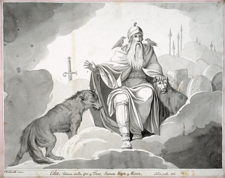 The Norse Mythology Blog Norsemyth Org Odin And The Runes