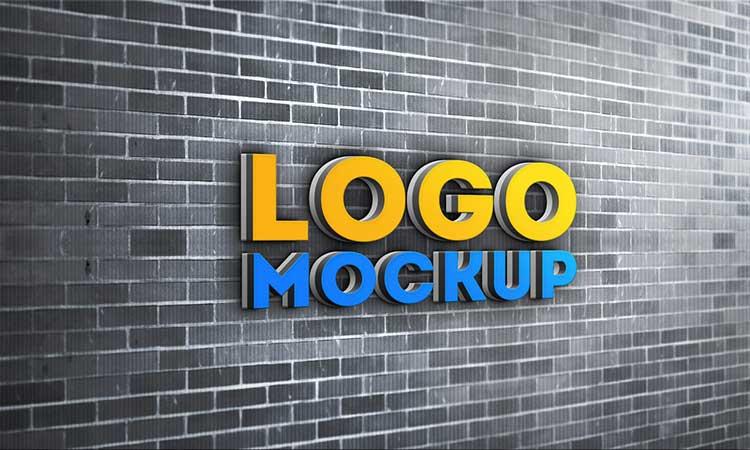 54 Amazing Free Logo Mockup PSD Templates