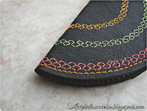 szycie portfela,portfelik,diy,tutorial,dekoracyjne ściegi,jak nauszyć się szyć,wykrój,pattern,blog o szyciu i dekorowaniu ubrań ,sewing,refashion,handmade