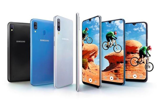 Samsung Galaxy A50, Galaxy A30 and Galaxy A10 launched in India