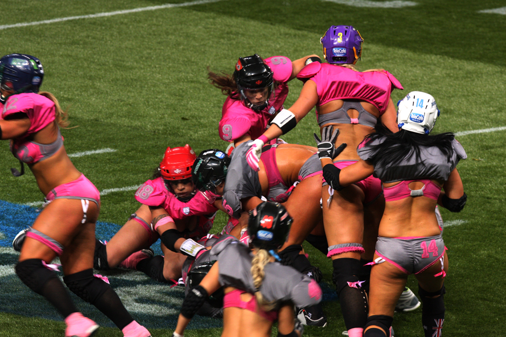 Lingerie Football Games 38