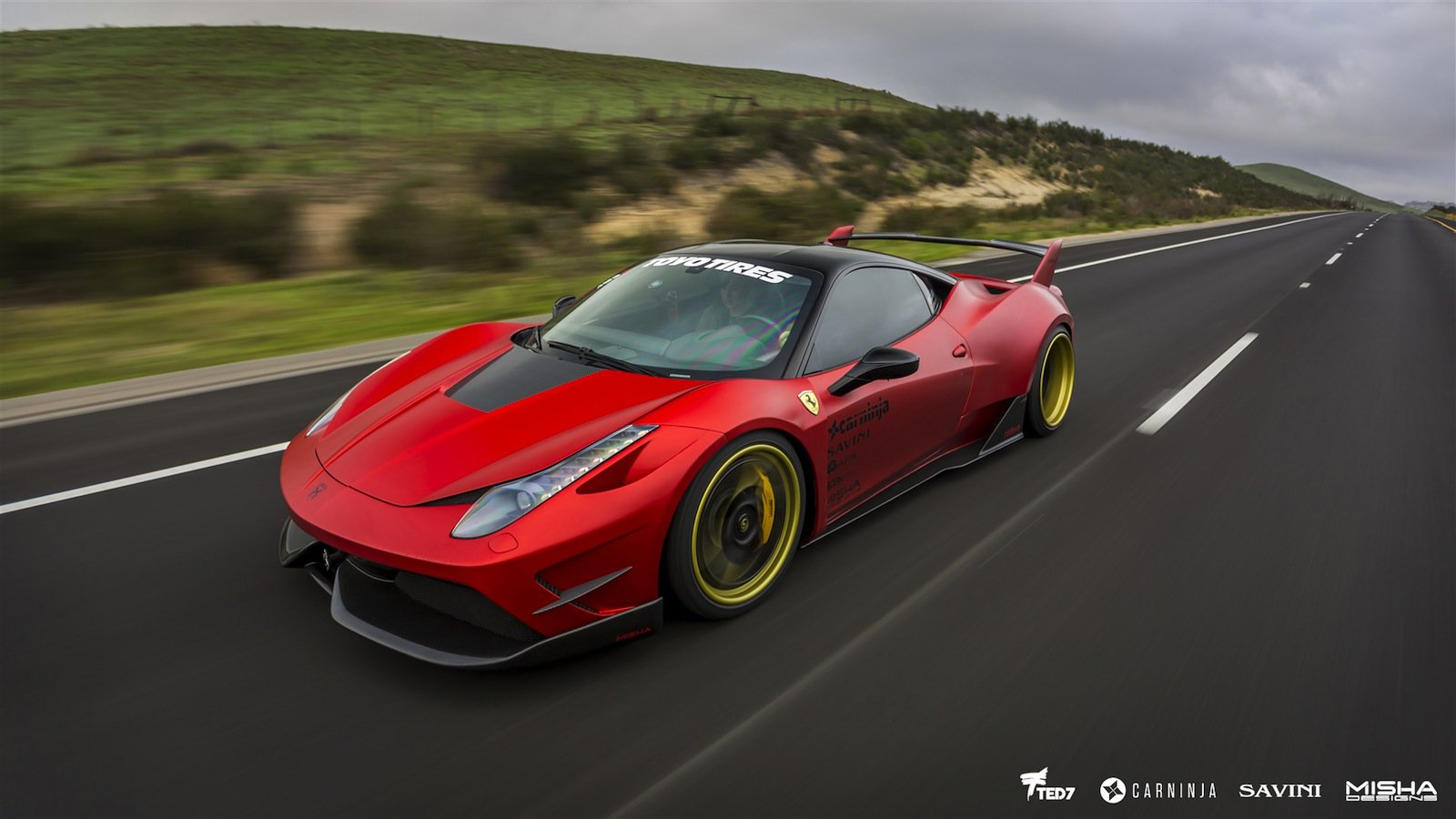 ferrari italia widebody. Ferrari 458 Italia With Misha Designs Bodykit Looks Like A Mini-Hypercar | Carscoops Widebody