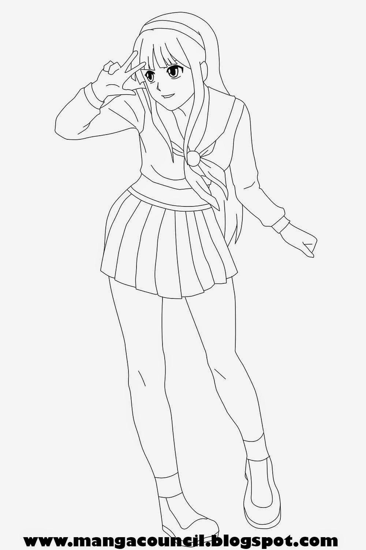 Cara Menggambar Anime Perempuan Untuk Pemula Manga Council