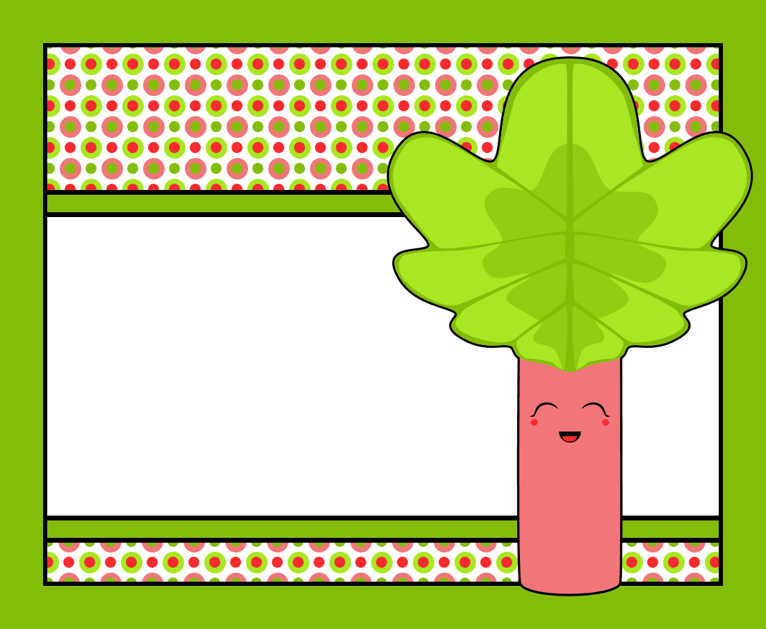 rhubarb coloring pages - photo#29