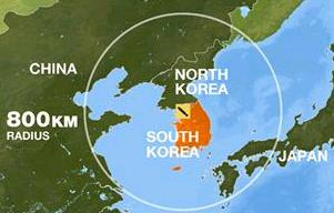 The measures allowed Seoul to develop ballistic missiles with a range of up to 500 miles