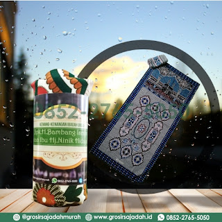 harga sajadah oleh oleh haji, grosir sajadah murah, 0852-2765-5050