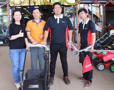 Buriram Highest selling volume dealer with Honda Manager