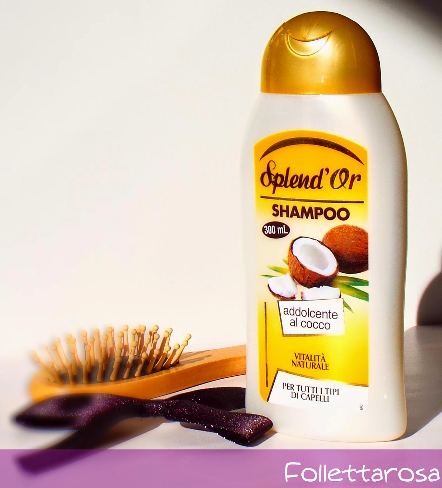 shampoo splendor recensione