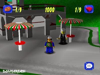 Lego island 2 PS1 Roms