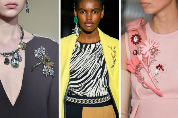 Fashion 2015: The brooch is back