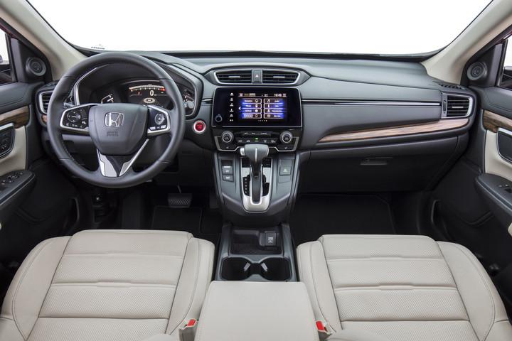 2018 Honda CRV dashboard photos and interior images - New ...