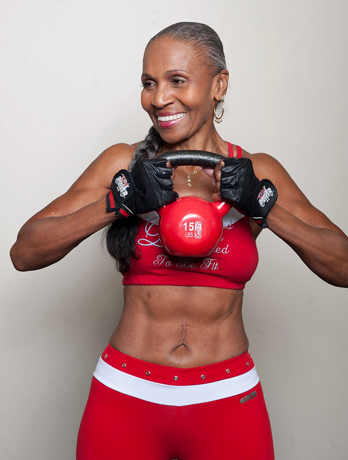 The World's Oldest BodyBuilder Just Turned 80! Here Are Her Secrets… - Ernestine Shepherd recently turned 80 years old!
