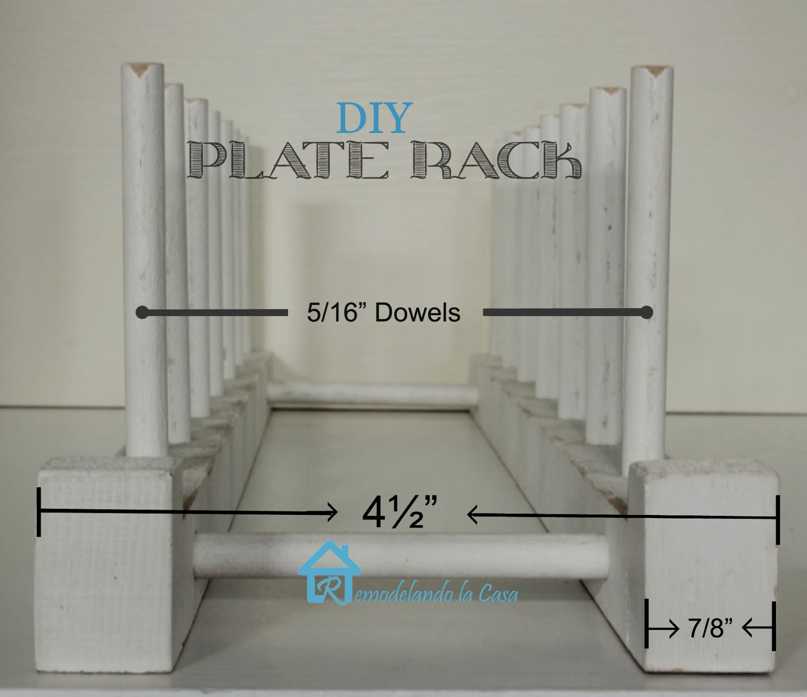 dimensions of plate racks