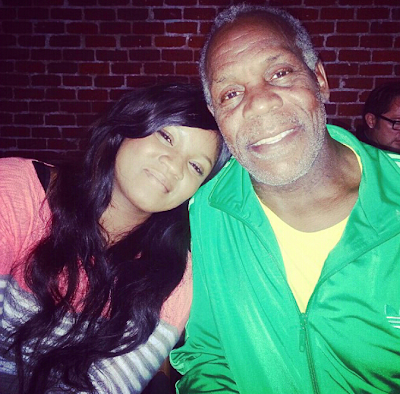omotola jalade with danny glover