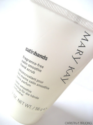 Mary Kay Satin Hands fragrance-free satin smoothie hand scrub