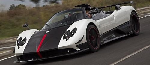 Pagani Zonda Cinque Roadster - Mobil Termahal di dunia