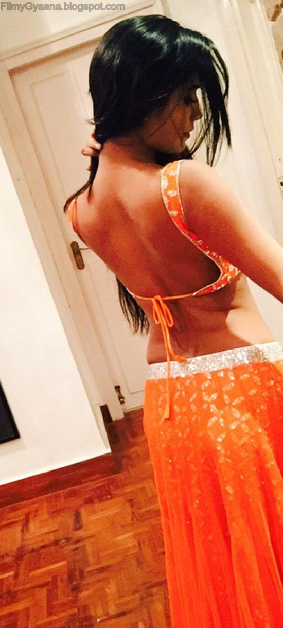 poonam pandey hot backless photo
