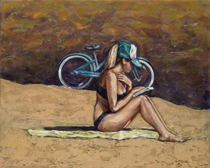 Пляжные картины. Taryn Alessandro