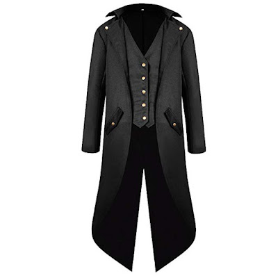 men's steampunk gothic victorian frock coat