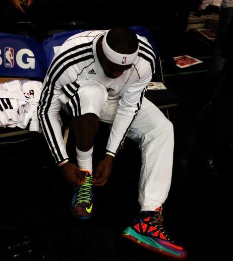 THE SNEAKER ADDICT: 2013 Nike Lebron 10 What The MVP X ... Lebron 10 What The Mvp
