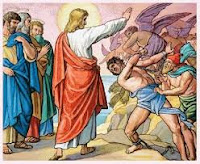 Jesus expulsa os demônios