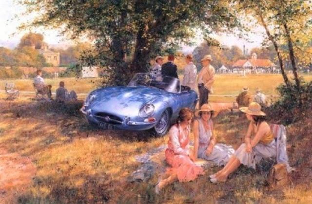 Спортивные ретро-автомобили, Alan Fearnley