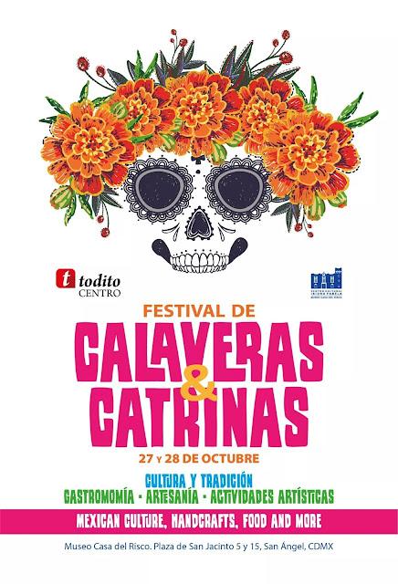 festival de calaveras y catrinas 2018