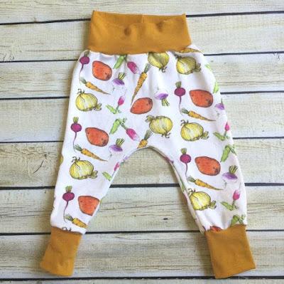 Garden Medley Organic Knit Pants