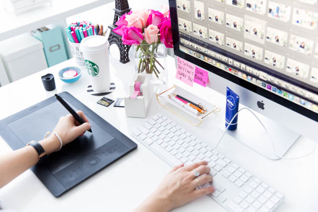 5 ways to stay inspired everyday | home office, work pretty