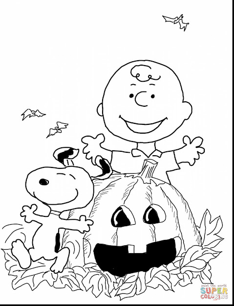 Astounding Charlie Brown Halloween Coloring Pages Printable With Charlie  Brown Christmas Coloring Pages And Charlie Brown